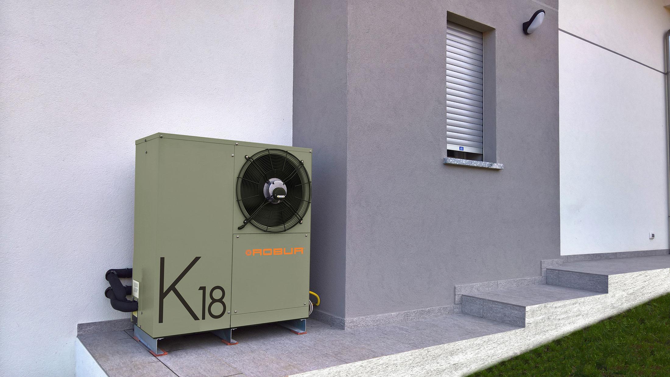Salto di 2 classi con le pompe di calore a gas: casi concreti
